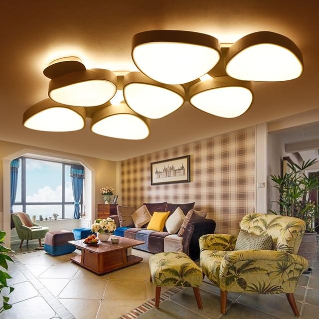 Modern living room lamp dimmable LED ceiling light creative ...