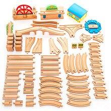 Бук Тома мост рельсы сцены трек аксессуары и Brio деревянный поезд Развивающие мальчик дети игрушка несколько дорожек