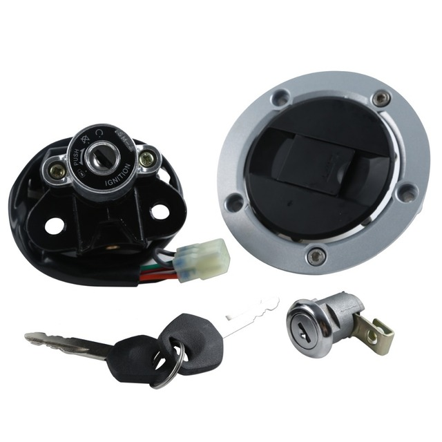 Ignition Switch Lock Gas Key Set for Suzuki GSXR600/750 04-05 GSXR 600 GSXR 750
