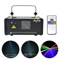 New Arrival SUNY Remote DMX 400mW RGB Laser Stage Lighting Scanner DJ Dance Party Light Show