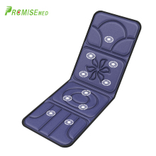 лучшая цена pr+mise Electric Portable Heating Vibrating Far-Infrared Back Massager Chair Pain Relief Massager Mattress