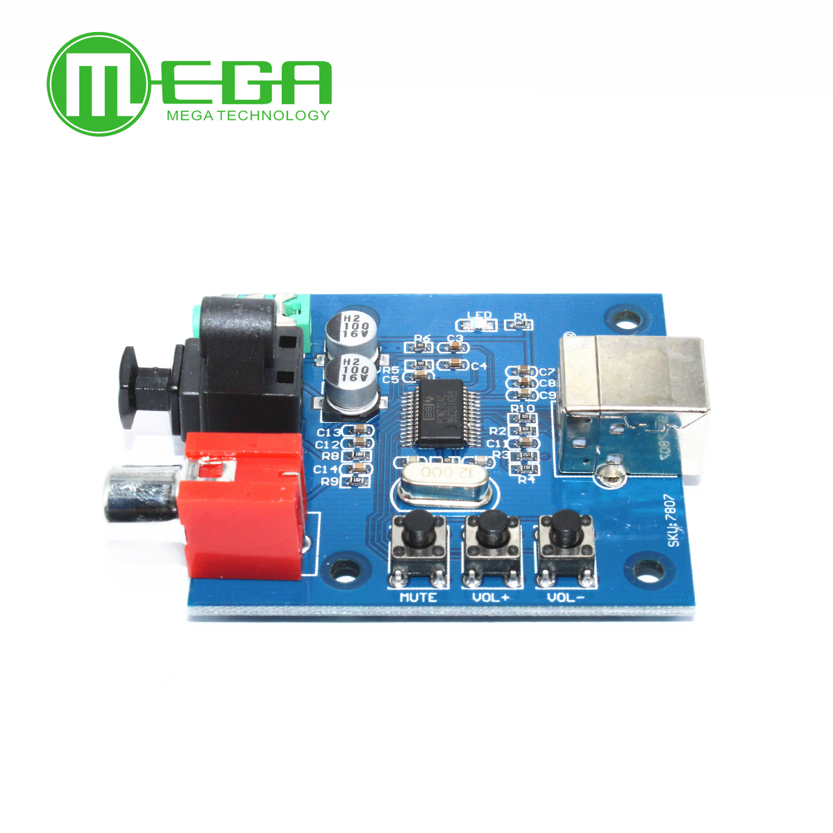 Pcm2704 Usb Dac Power Fiber Optic Coaxial Analog Output Optics Integrated Circuits Images Of Raspberry Pi Raspbian Raspbmc Windows 7 Need No Driver In From Electronic