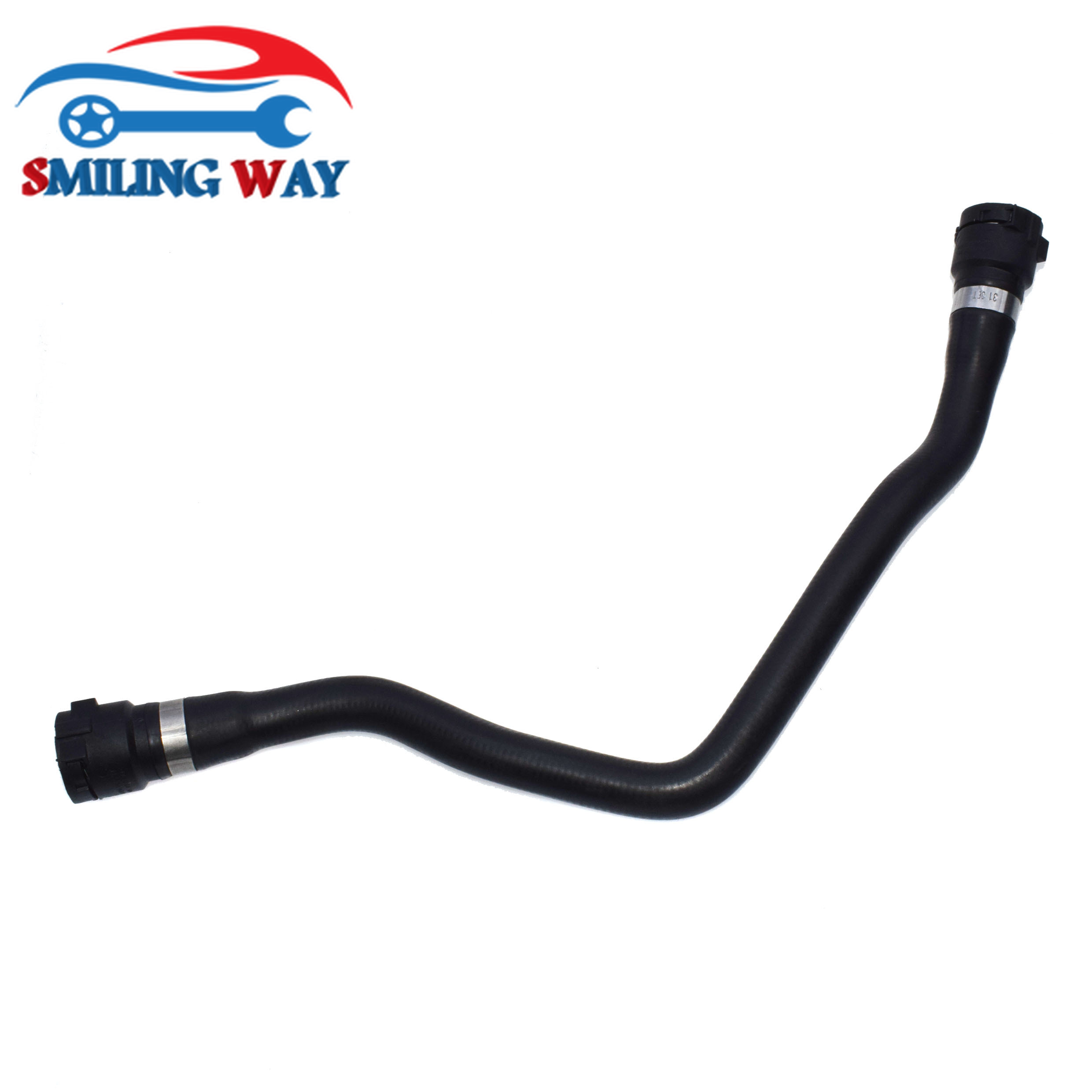 Lower Radiator Expansion Tank To Coolant Hose Pipe For BMW
