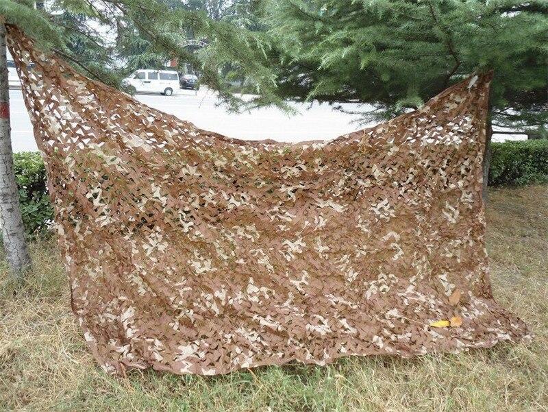 Divers Taille Chasse Camping Camouflage Militaire Net Voiture Baisse filet désert camo filet pour Militaire Photographie livraison gratuite dans Abri du soleil de Sports et loisirs