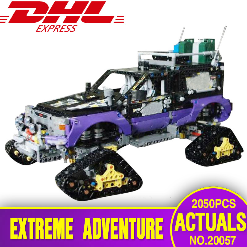 DHL 20057 Genuine Technic Mechanical Series The 42069 Ultimate Extreme Adventure Car Set Building Blocks Bricks