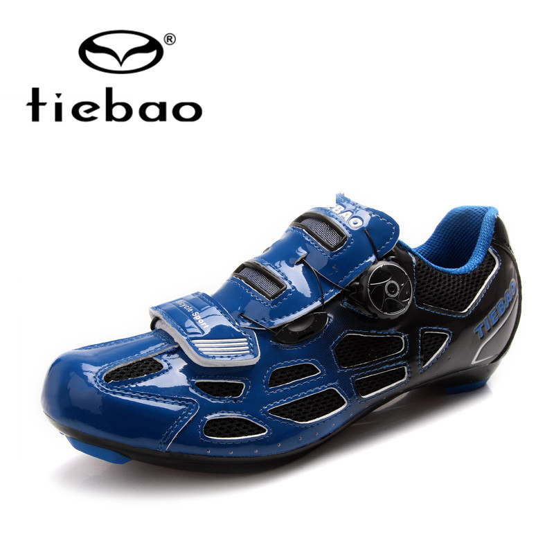 Tiebao Professional Bicycle Cycling Shoes Men Women Breathable Road Bike Shoes S2-Snap Tuning Knob Fastener Shoes Cycling Shoes original li ning men professional basketball shoes