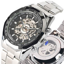Top Brand Luxury Mechanical Watch Men Tevise Automatic Self Wind Skeleton Wristwatch High Quality Timepieces Clock reloj hombre