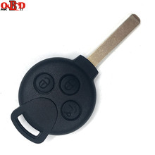 HKOBDII New 3 buttons Remote Car Key 315/433MHZ With 46 Electronic Chips for Mercedes Benz Smart MB 451 Fortwo complete key