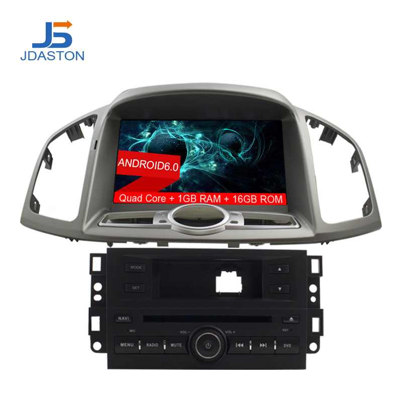 JDASTON 8 Android 6.0 Voiture CD Lecteur DVD Pour Chevrolet Captiva 2006-2015 Navigation GPS Auto Radio Audio RDS Wifi CANBUS Carte