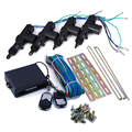 360 Graus de Rotação Universal Carro Auto Remoto Central Fechadura Keyless Alarme de Segurança Kit 4 Suporte Da Porta de Entrada Do Sistema