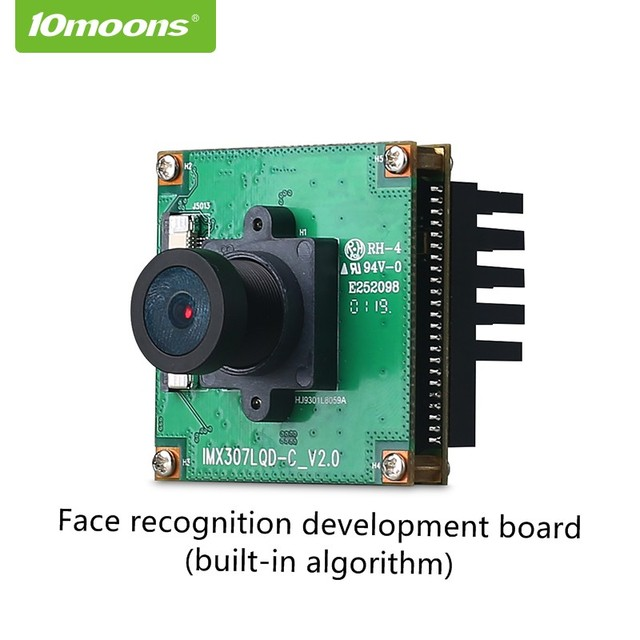 10moons Face Recognition Camera Development Board Face Recognition Capture Face Analysis for Smart Attendance Access Control