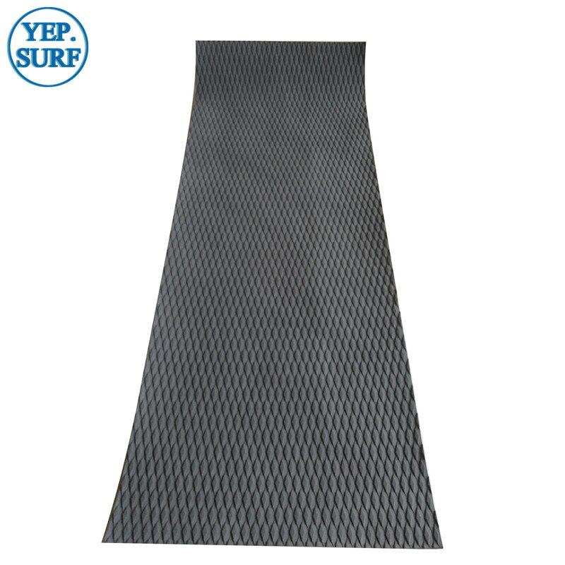 Surfboaard noir blanc gris couleur diamant coupe eva sup board deck grip pad pour planche de surf livraison gratuite
