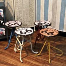 de metal creativa viento industrial bar taburete silla americano retro estao artesanas muebles para el