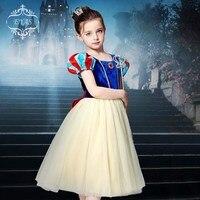 Children's Snow White dress Cinderella costumes