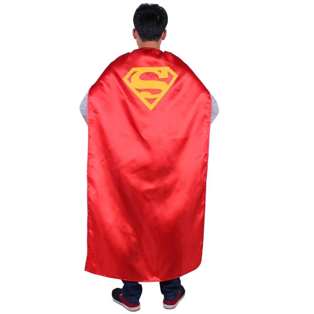 online kaufen gro handel superman cape erwachsenen aus china superman cape erwachsenen. Black Bedroom Furniture Sets. Home Design Ideas