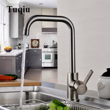 Kitchen faucet Stainless Steel Faucet 360 degree Rotating Sink Faucet Kitchen water mixer sink mixer tap New Arrivals kitchen sink faucet with plumbing hose all around rotate swivel 2 function water outlet mixer tap faucet 5051