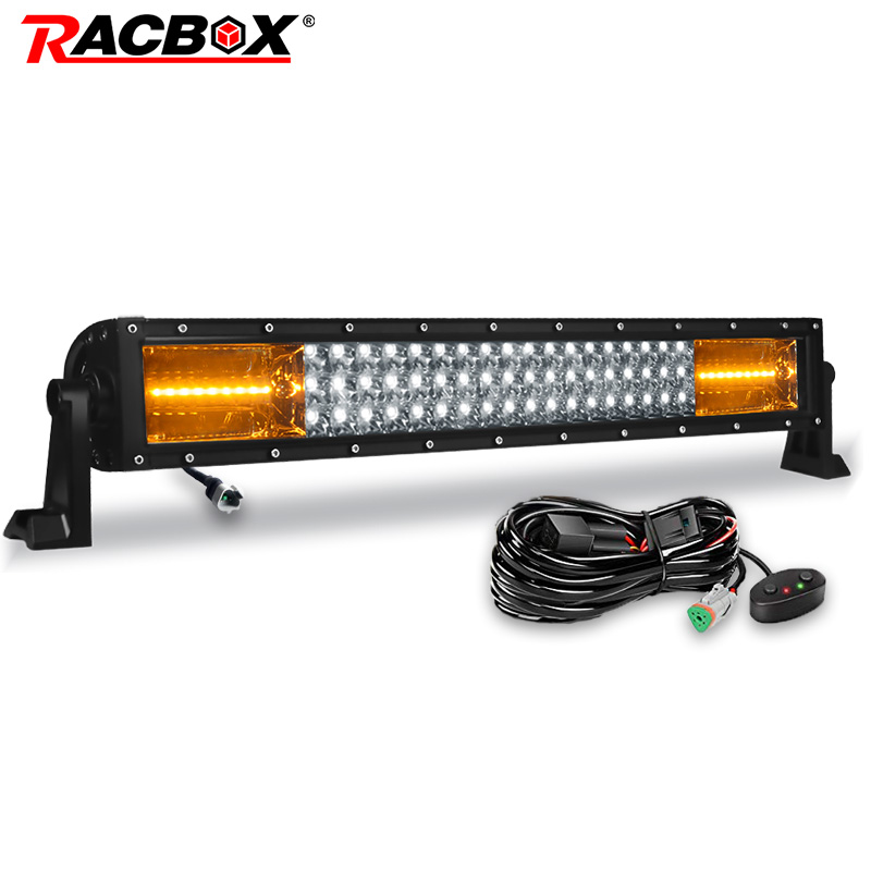 Off road New 22 Flood Spot Combo Beams Fog Led Bar Driving Running Lights headlight finder