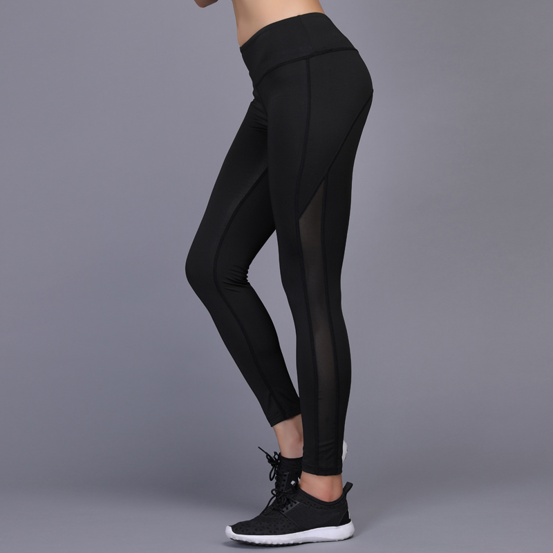 BINTUOSHI Sexy Yoga Pants Women Gym Workout Fitness Sport Leggings Compressed Running Tights Jogging Trousers Hips Push Up in Yoga Pants from Sports Entertainment