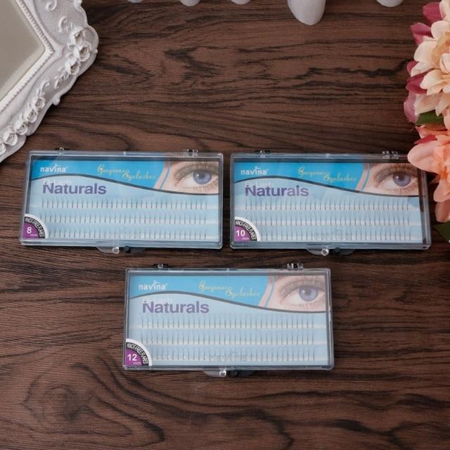 102pcs False Eyelash 12mm 10mm 8mm D-Lash Natural Long Black Individual False Eyelashes Extension Make Up Tools