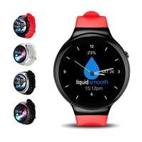 1 ГБ/16 ГБ Смарт-часы i4 Android 5.1 MTK6580 чип смарт часы телефон Heart Rate Мониторы MP3 GPS WI-FI 3 г BT4.0 SmartWatch PK kw88