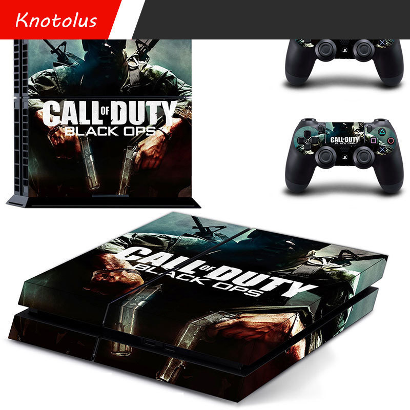 for ps4 Classic sticker Batman call of Duty Uncharted waters Skin sticker Vinyl Cover De ...