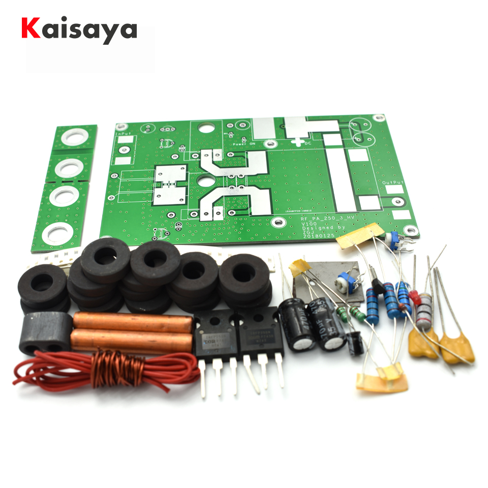 Diy Intercom Circuit 180w Linear Power Amplifier Board For Transceiver Radio Hf Fm Ham Dc12 24v Amp Kits F2 003 In From Consumer Electronics On