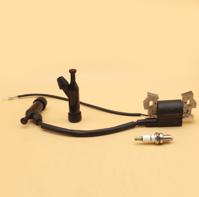 Zündspule Kappe Zündkerze Fit HONDA GX110 GX120 GX140 GX160 GX200 168F 4 Hub Benzin Motor Motor Rasen mäher Generator