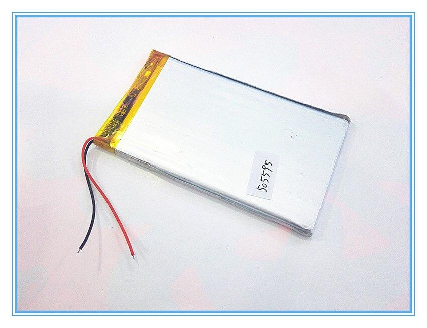 Планшет батарея 3.7 В 3000 мАч аккумуляторные батареи, 505593, аккумулятор 505595 mp4'ta MP5 GPS навигатор батареи c