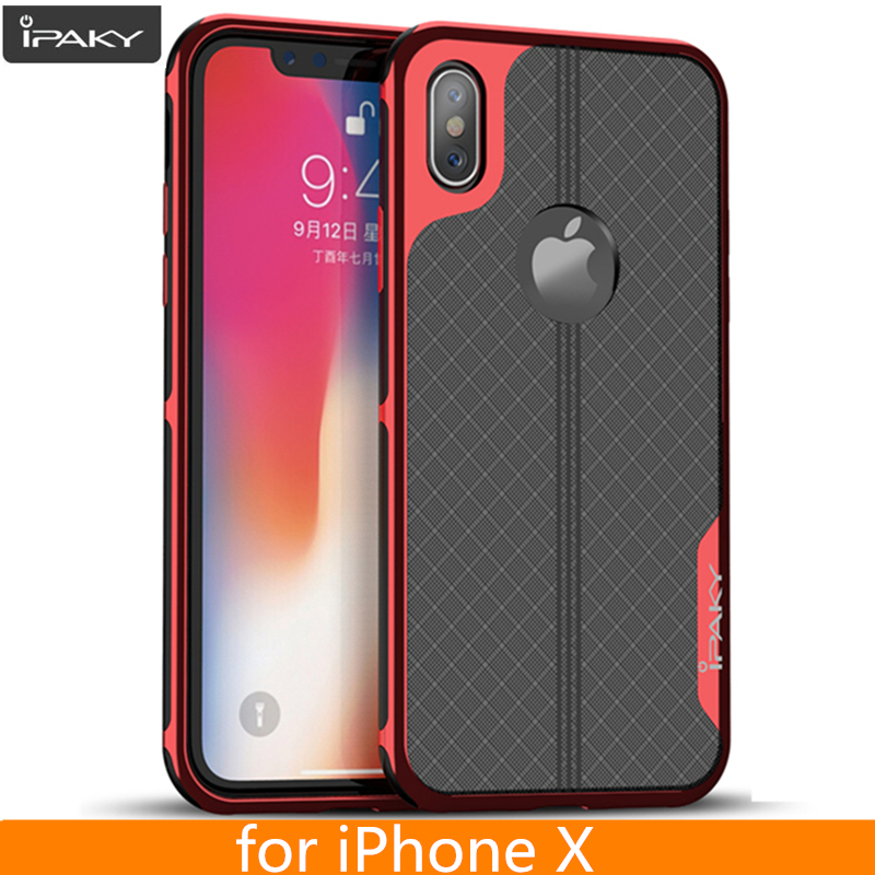 for iPhone X Case Original iPaky Brand Armor Electroplated