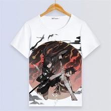 Dororo Hyakki Maru Cosplay Printing Loves T shirt Homme Tee