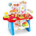 Nueva llegada del envío gratis niños mayores de la edad de cocina play house 2-3-4-5-6-7 juguetes educativos del bebé para chicas chica