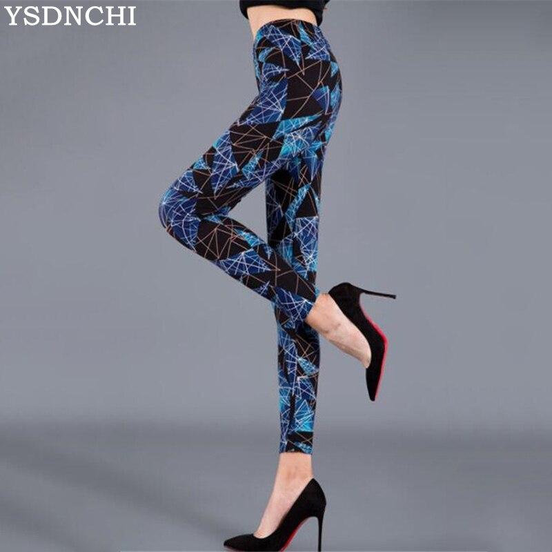 YSDNCHI High Waist   Legging   Breathable Slim Snake Printing   Leggings   Push Up Elastic Leggin Slim Ladies Trousers Stretch   Legging
