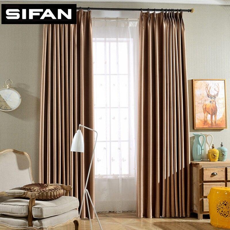de alta calidad de la chispa blakcout cortinas cortinas para la sala de estar moderna de