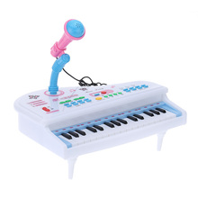 31 Keys Multifunctional Mini Simulation Piano Toy with Detachable Microphone Electrical Keyboard Electone Gift for Children Kids(China)