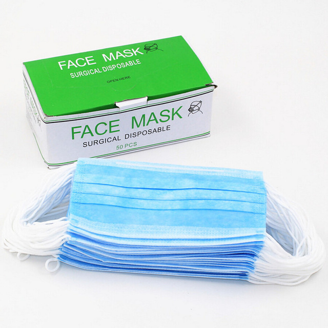 1PCS Dental Disposable Medical Dust Mouth Surgical Face Mask Respirator