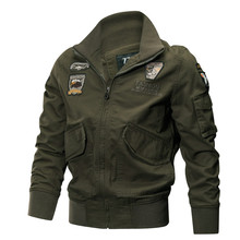 Military Jacket Men Winter Cotton Jacket Coat Army Pilot