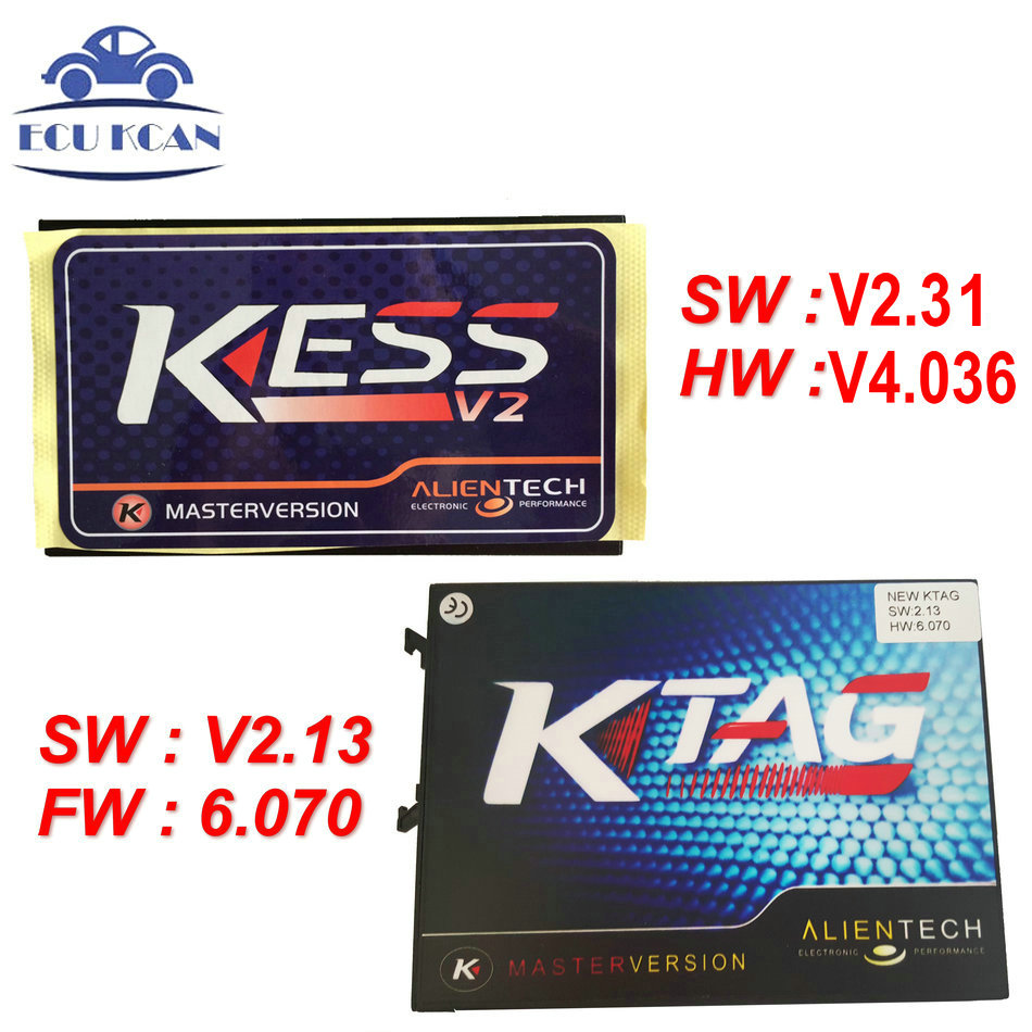 Цена за Оптовая продажа KESS V2 V2.31 KESS V4.036 + KTAG V2.13 FW V6.070 k тег ЭКЮ программист инструмент не маркеры Limited DHL Бесплатная доставка