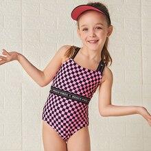 July Sand/Новинка года; одежда для купания для маленьких девочек; цельный купальник; детская пляжная одежда; летний купальный костюм; 18G053