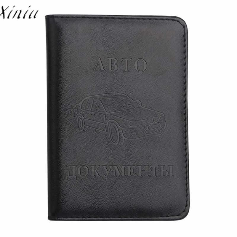 男性女性革運転免許証 ID クレジットカードプロテクターホルダー財布トラベル男性パスポートカバー女性カードホルダーカバー