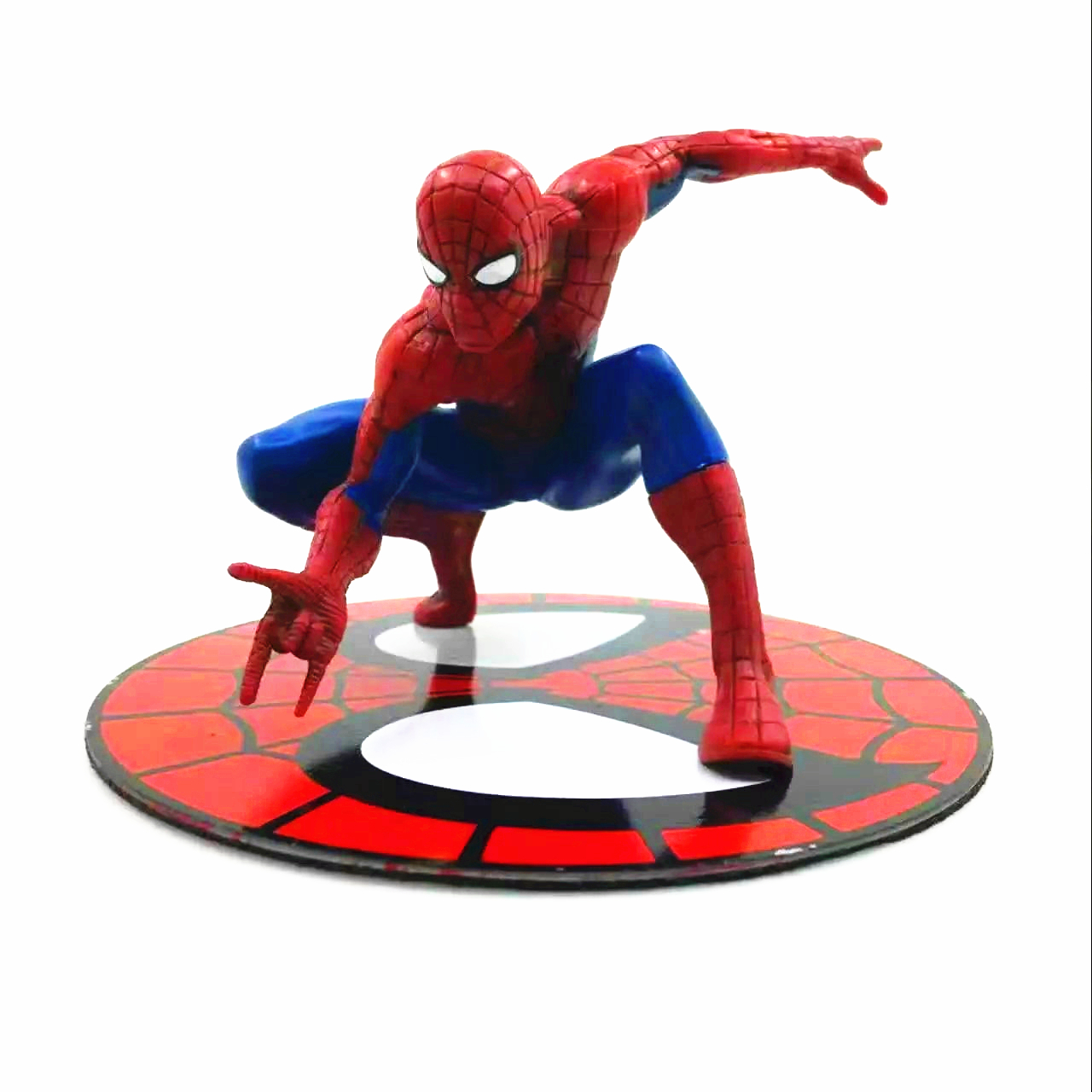Marvel Anime The Avengers ARTFX + Spider-Man Base Contains Magnets Model Can Climb Any Area With Iron For Kids Gift
