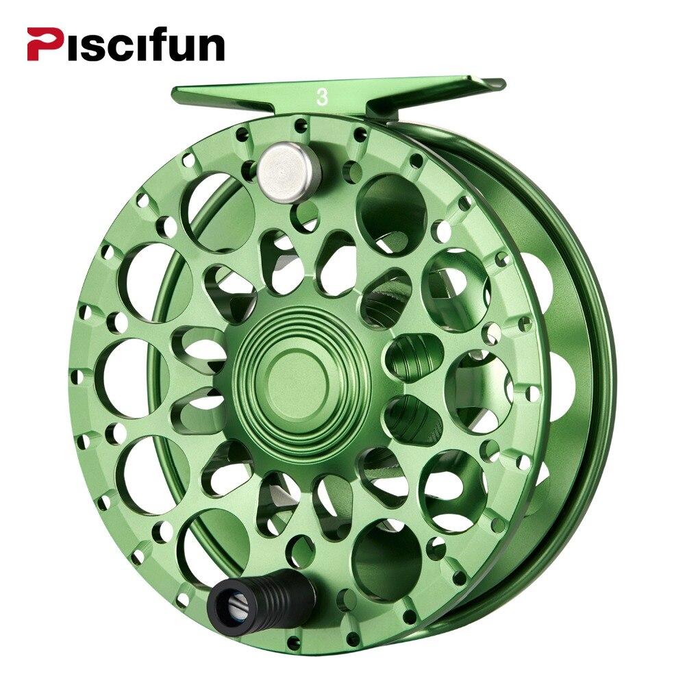 Piscifun Crest Fly Reel 5/6 7/8 9/10 Completamente Sigillato Trascinare Lavorazione CNC In Lega di Alluminio Mano Destra Sinistra Recuperare Pesca A Mosca ruota