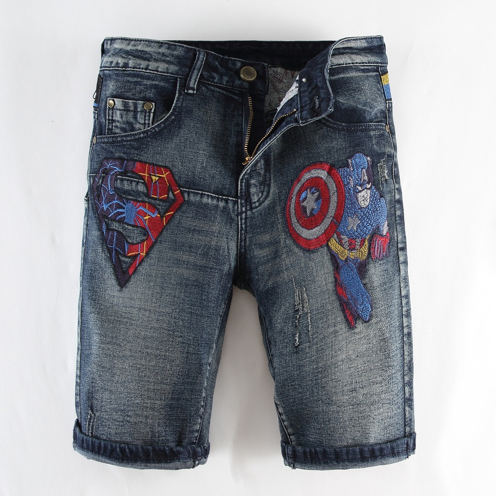 Men S Fashion Brand Captain American And Superman