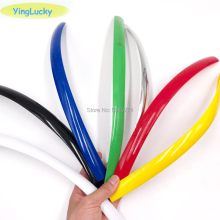 Yinglucky 32,8фт 10 м длина 16 мм/19 мм ширина Пластиковые Т-образные формы для аркадных игр MAME машина шкаф хром/черный