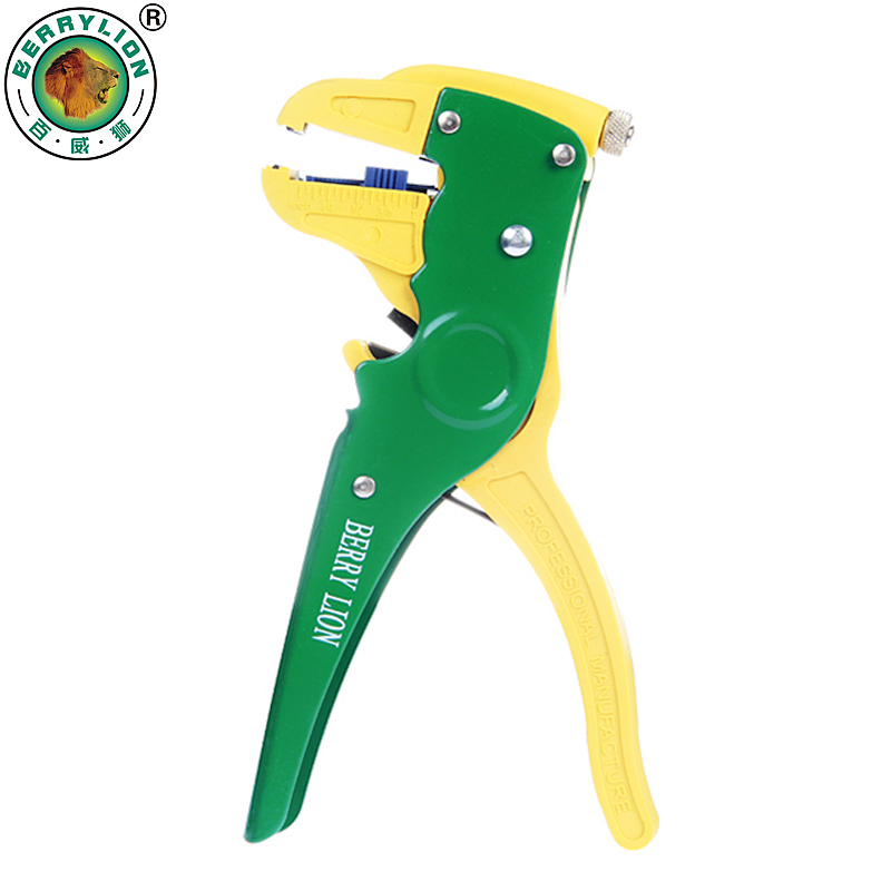 Self-Adjusting Insulation Wire Stripper Automatic Wire Strippers Cutter Crimping Tool For Outdoor Home Electrician Tools heavy duty 8 self adjusting wire stripper cutter crimper automatic plier tool