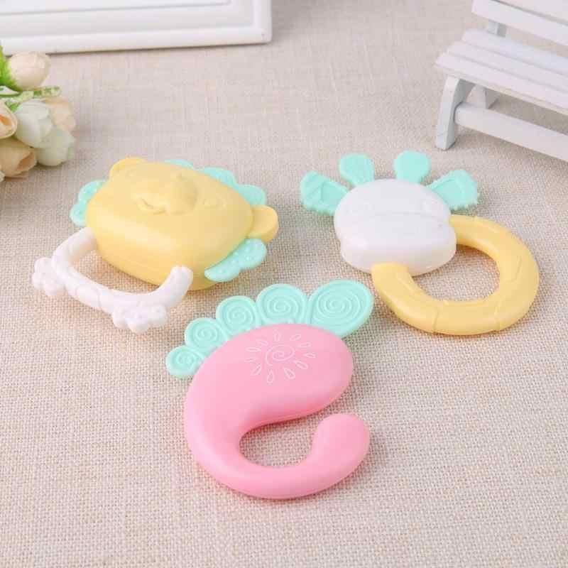 Niemowlę dzieci zabawki grzechotki Mobiles gryzaki muzyka piękny dzwonek po potrząśnięciu łóżeczko dziecięce noworodka edukacyjne prezenty dla dzieci
