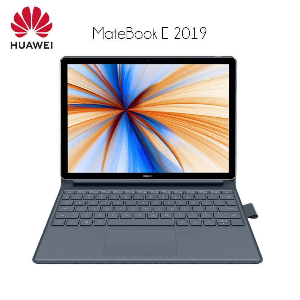 HUAWEI MateBook E 2019 12.0 pouces 2 en 1 tablette ordinateur portable Windows 10 Qualcomm SDM850 Octa Core 8 GB RAM 256 GB/512 GB SSD empreinte digitale