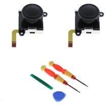 2Pcs L/R Analog Sensor Joypad Joystick Rocker Controller Button Repair Part with Prying Tool for Nintendo Switch Joy-con стоимость