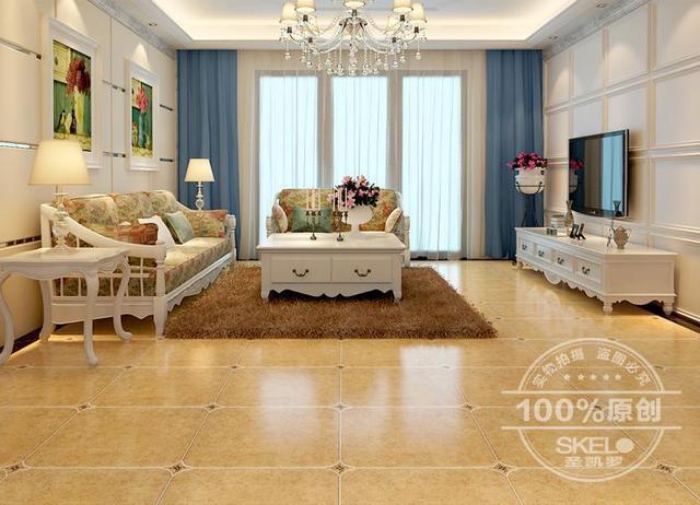 Antique Brick Tiles 500 Round Of European Garden Style Living Room Floor  Tiles Slip Mediterranean Style