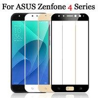 Per Asus Zenfone 4 Max ZC520KL Vetro ZC554KL 4 Selfie ZD553KL Protector Temperato Glas Pellicola Protettiva Glas Copertura Completa 9 H 4Max