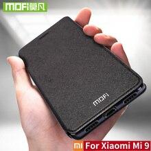 עבור שיאו mi Mi 9 מקרה עבור Xio mi Mi 9 פרו מקרה כיסוי Mi 9 SE Flip עור עבור שיאו mi Mi 9 לייט מקורי Mofi TPU 360 עמיד הלם